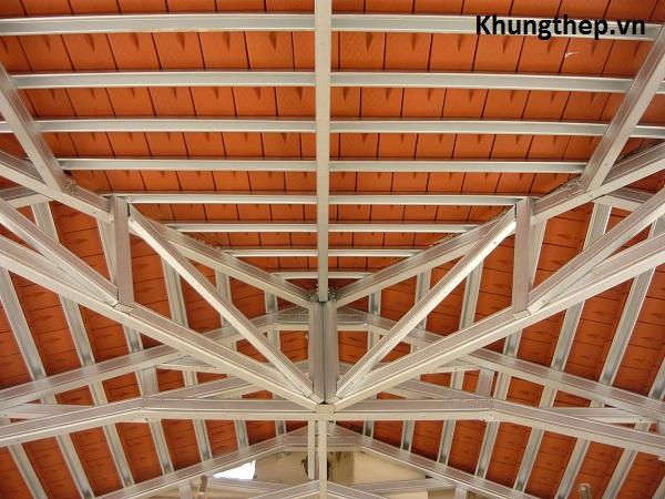 Mái Nhà Khung Thép Lợp Ngói Mái Nhà Lợp Ngói P1030252